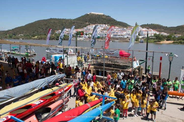 Mais de 500 atletas de 33 clubes nacionais competiram ontem na prova em Alcoutim (®VitorTeixeira/GDAlcoutim)
