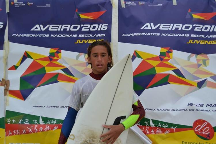 Michael Conlan, 5º lugar Surf Iniciados (®DesportoEscolar)