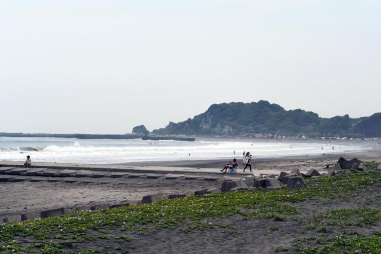 Aspeto do mar em Shida Point (®WSL)
