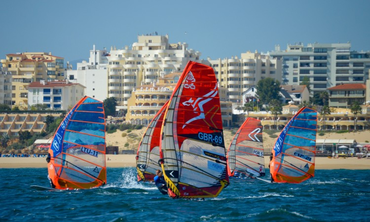 26 athletes from 7 countries were at the European Formula Windsurfing Festival in Portimão (®PauloMarcelino)