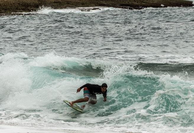 Local Simão Pinto fez 2º lugar na etapa; o resultado destacado pelo 'amigo' algarvio Miguel Braz (®SCS)
