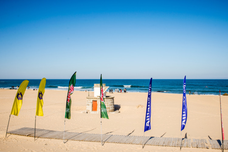 'Call' 08h00; início da prova 09h00; Praia Leça da Palmeira (®PedroMestre/ANS)