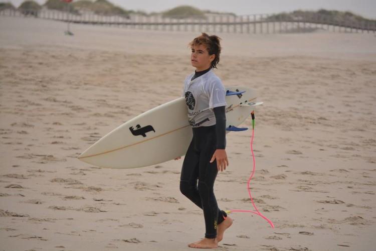 Diogo Pereira, 2º Surf Iniciados (®DesportoEscolar)