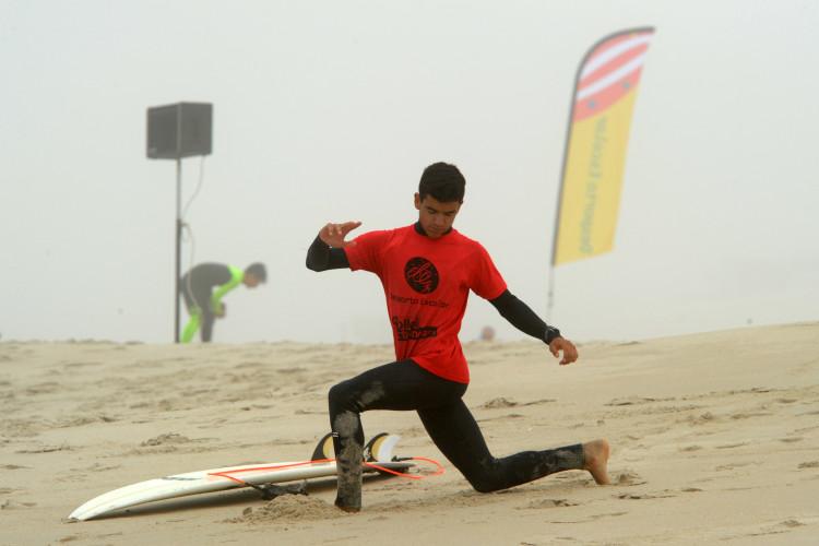 Bruno Gregório, 3º Surf Juvenis (®AlexandrePona/DesportoEscolar)
