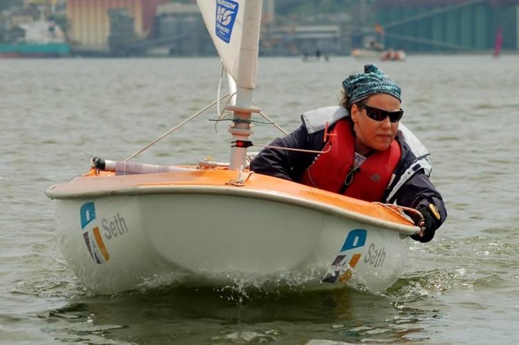 Luísa Graça, Medalha de Bronze em Hansa 2.3 (®DR)