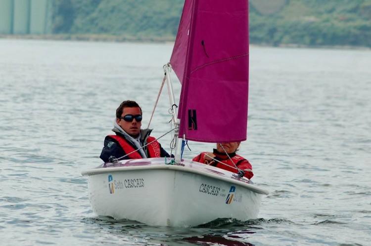Pedro Reis, Medalha de Bronze em Hansa 303 Solitário e 5º lugar em 303 Duplo, com Ana Cunha (®DR)