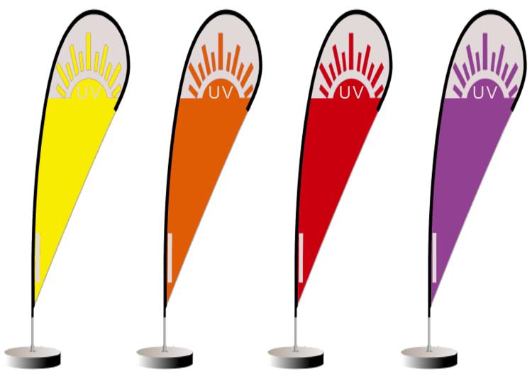 A cada nível de índice de UV correspondem necessidades próprias de proteção. A radiação ultravioleta pode provocar cancro (®montagem)