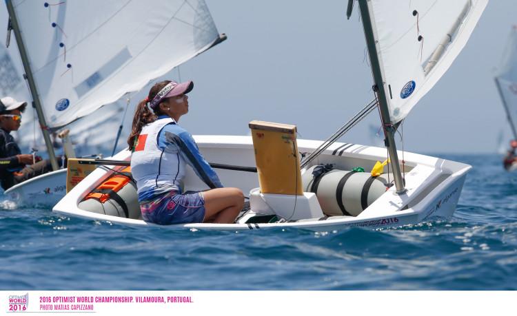 Beatriz Gago perdeu hoje a liderança feminina no Mundial em Vilamoura (®Matias Capizzano)