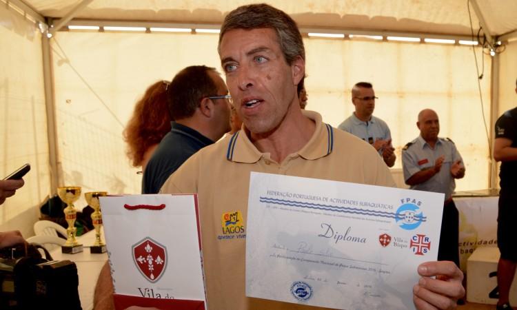 Aos 54 anos de idade, o algarvio Paulo Silva repetiu o seu melhor resultado em nacionais individuais (®PauloMarcelino)