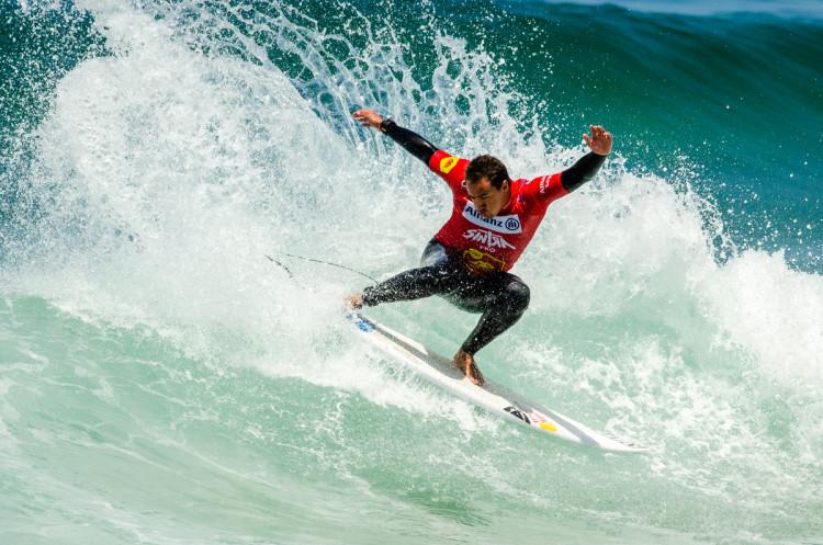 Vasco Ribeiro fez as melhor pontuação e melhor onda do campeonato (®PedroMestre/ANSurfistas)