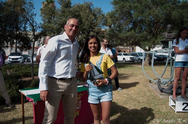 Beatriz Gago, CNPortimão, 2º lugar geral, 1º Feminino Sub-16 (®DR)