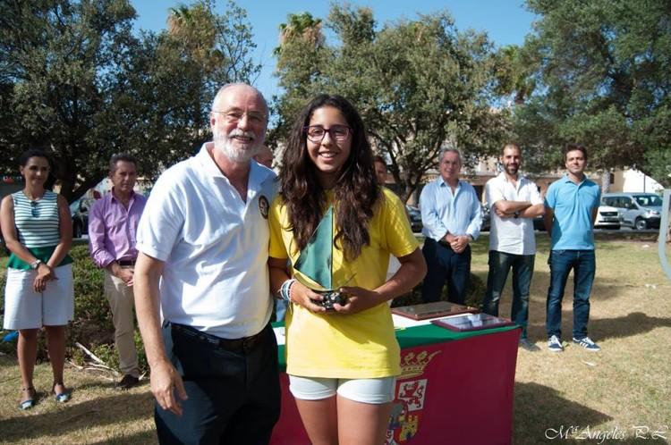 Mara António, CNPortimão, 1º Feminino Sub-13 (®DR)