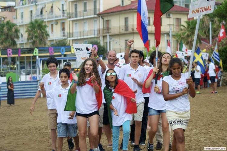 Equipa de Portugal, com dois algarvios, sentiu dificuldades no Europeu e não chegou ao Grupo de Ouro (®DR)
