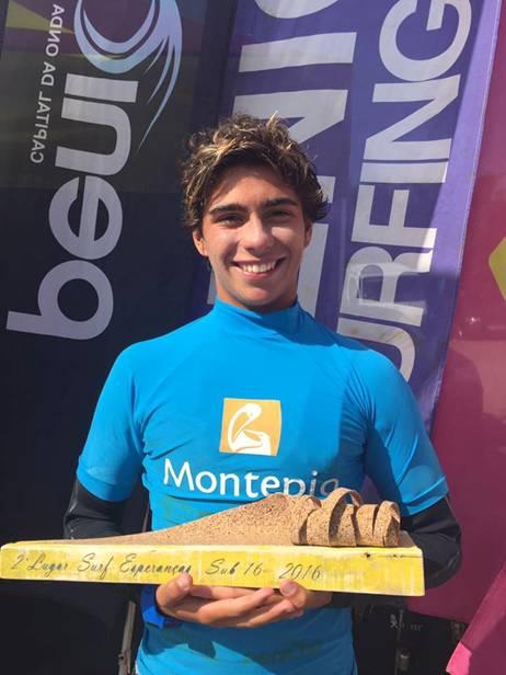 Salvador Couto, Campeão Nacional de Surf Esperanças Sub-16 (®DR)