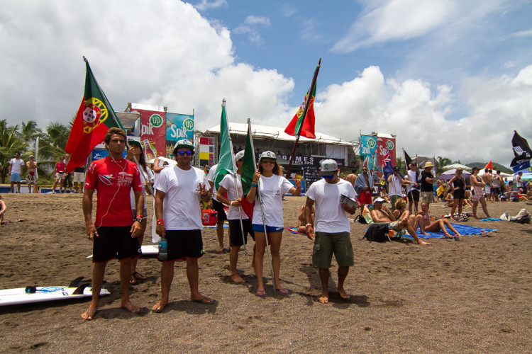 Equipa de Portugal chegou à Costa Rica com o estatuto de Vice-Campeã do Mundo (®Jimenez/ISA)