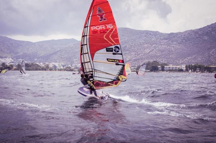 Margarida Gil Morais comandou a frota feminina na Grécia desde o início do festival mundial (®GFWA)