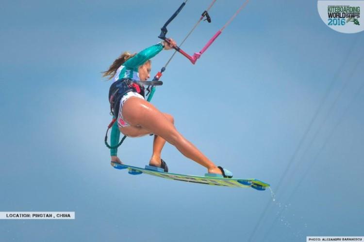 Campeã nacional portuguesa conseguiu ainda o 2º lugar na categoria Big Air (®IKA)