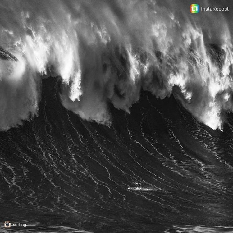 Esta é a foto de João 'Brek' Bracourt publicada na Surfing Magazine (®DR)