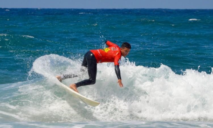 Bruno Gregório, o campeão regional, na final Sub-18 da etapa no Castelejo, que venceu (®PauloMarcelino/arquivo)