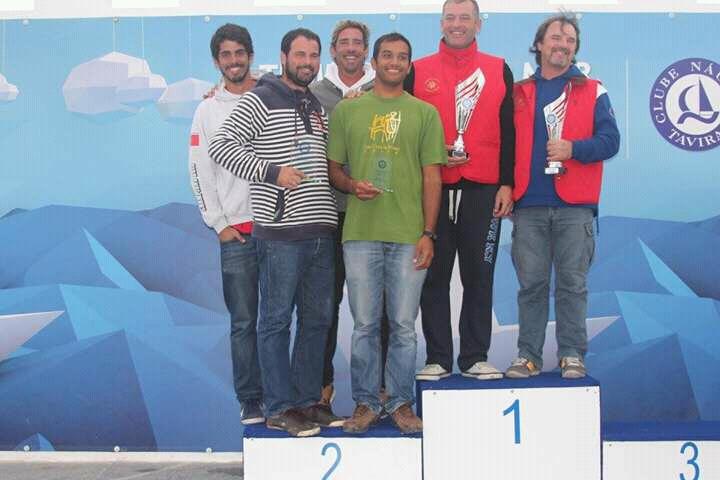 Duas tripulações portuguesas sugeriram partilhar o 2º lugar porque a organização não conseguiu desfazer o empate e entre elas no final da prova (®CNT/APCFD)