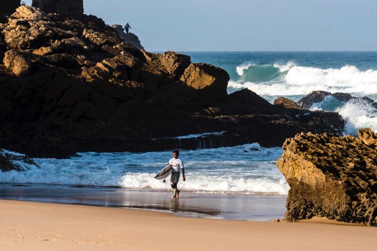 Pedro Henrique só precisa ganhar a sua meia-final, para ser campeão nacional de surf (®PedroMestre/ANSurfistas)