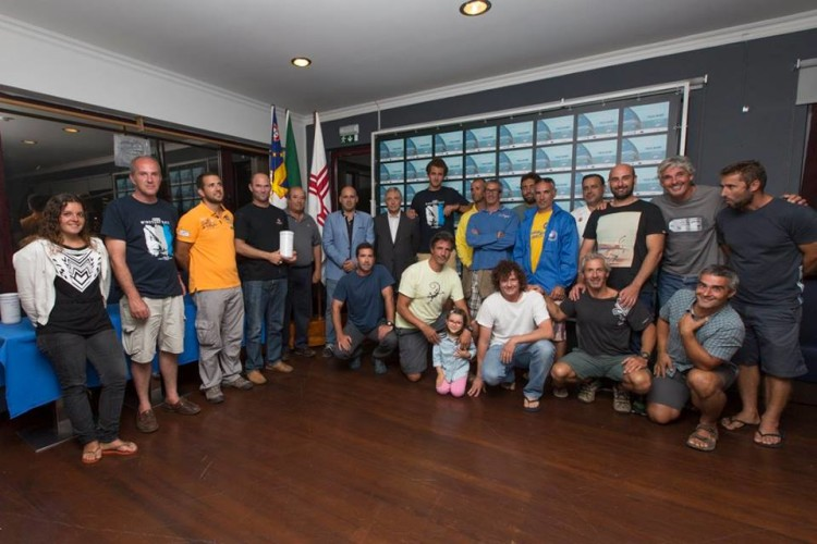 Competidores presentes no Azores Windsurf Race (®FernandoResendes/CNPDL)