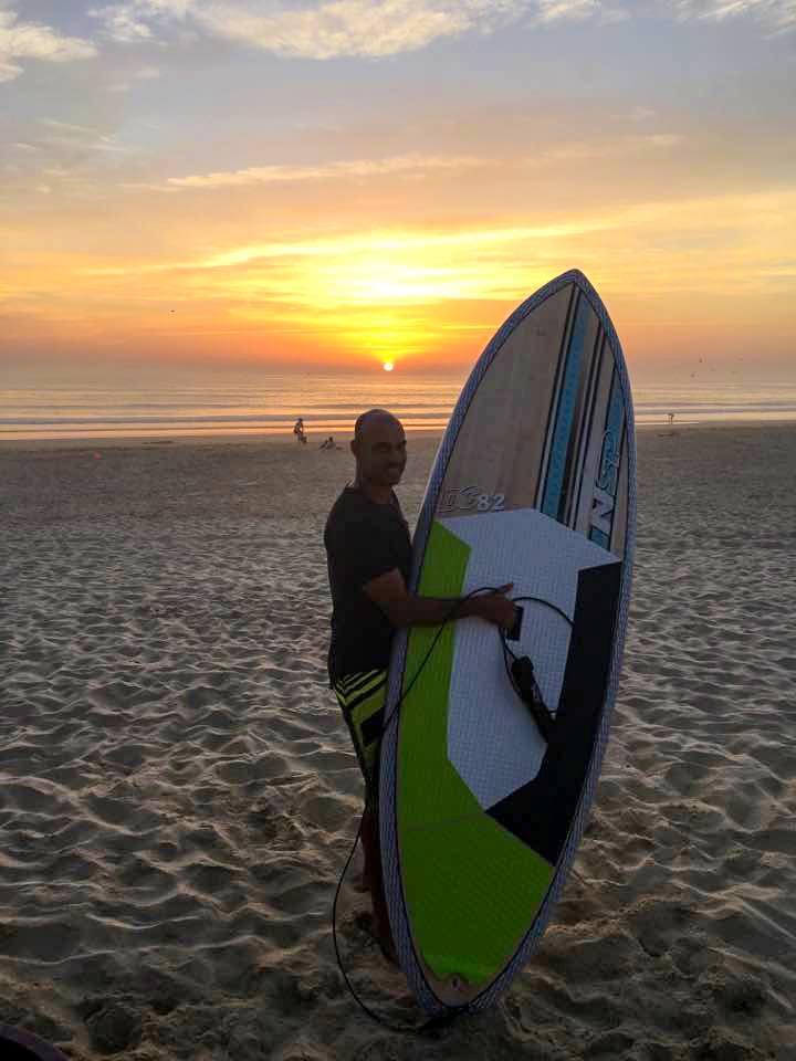 Paulo Meira, do distrito de Setúbal, vai ser o atleta NSP Portugal para o circuito SUP de ondas (®NSP)