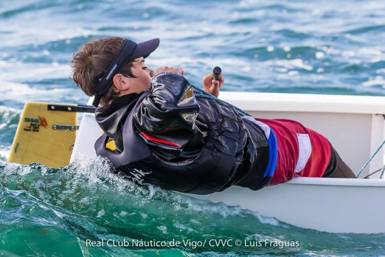 Guilherme Cavaco, do Ginásio Clube Naval de Faro, fez 11º na geral A+B em Vigo, 2º Masculino B (®LuisFraguas)