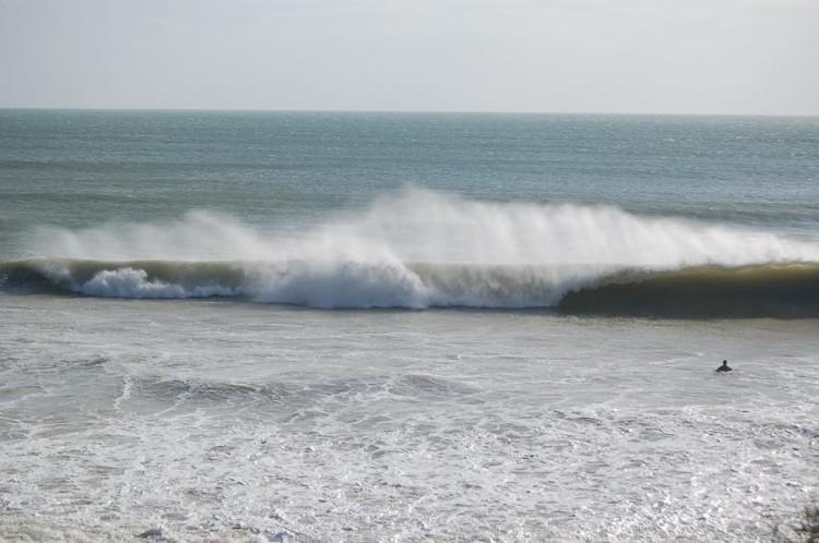 Esta é a onda que os promotores do evento querem (®PauloMarcelino/arquivo)