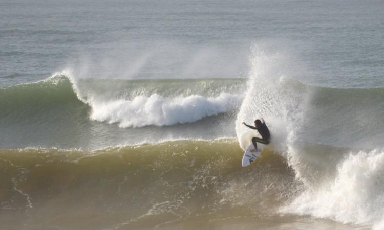 Ideal para as estrelas open brilharem é um dia grande como foi na etapa regional de 2014 em Faro, ganha por José Ferreira, na imagem (®PauloMarcelino/arquivo)