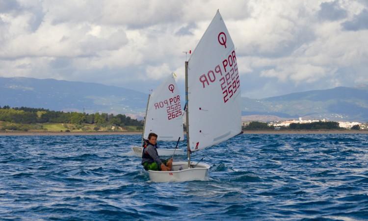 William Risselin deixou fugir a vitória nas duas últimas regatas da prova (®PauloMarcelino)