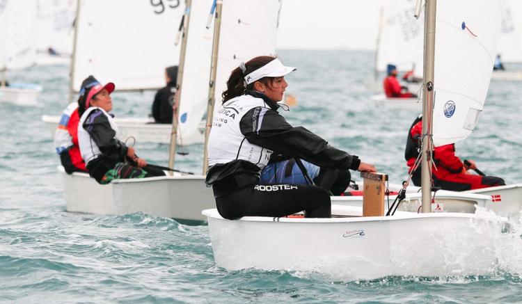 Beatriz Gago liderou a classificação feminina desde o início e realizou uma prova muito regular (®DR)