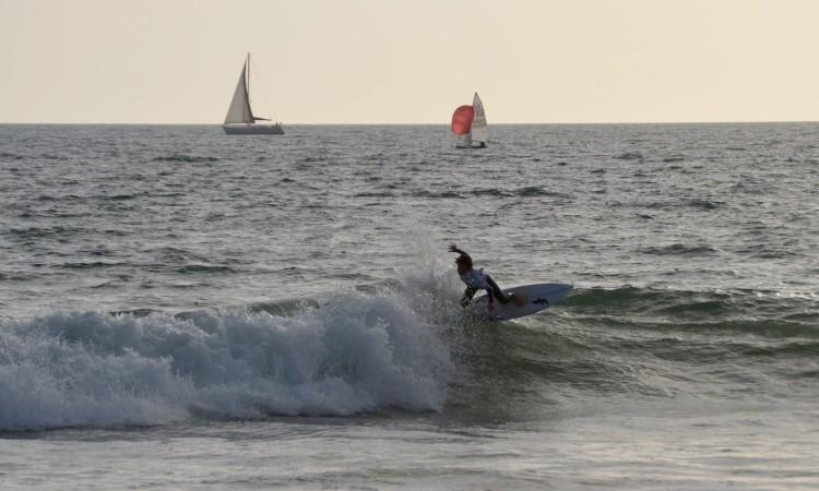 """""""O surf nao me correu como eu esperava"""", Diogo Pereira (®PauloMarcelino/Arquivo)"""