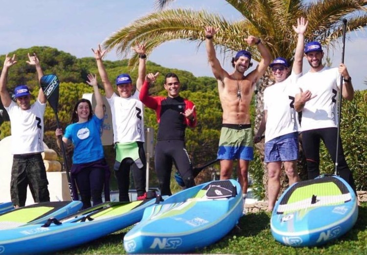 Equipa algarvia Team NSP Portugal (®NSP)