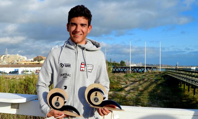 Atleta local Bruno Gregório foi o herói da prova em 2016, ao vencer nas categorias Sub-16 e Sub-18 (®PauloMarcelino/arquivo2016)