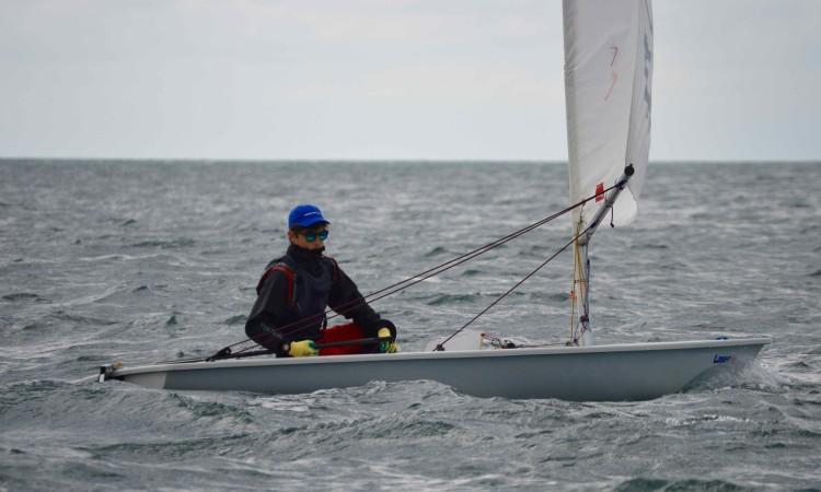João Vargues, vencedor em 4.7, classe que liderou desde o primeiro dia (®PauloMarcelino)