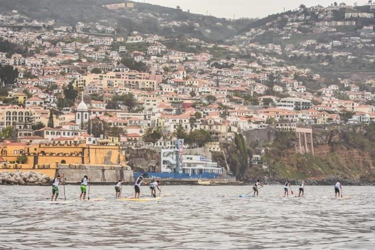 Prova foi disputada na bonita Baía do Funchal (®FPS/CNF)