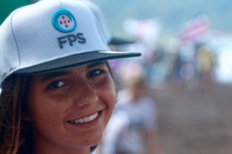 Teresa Bonvalot tem sido uma das mais fortes representantes do surf feminino português no estrangeiro (®DR)
