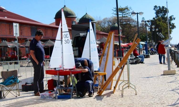 Público pode ver de perto a preparação em terra e a evolução dos barcos na água (®DR)