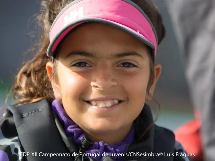 Beatriz Cintra segue sólida no grupo da frente e em 2º Feminino (®LuisFraguas/CNS)