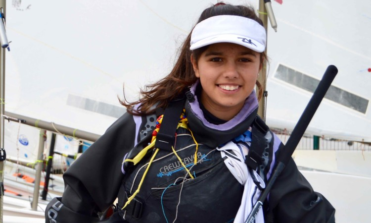 Beatriz Gago, bicampeã de Portugal Juvenis Feminino - 2015 e 1016 (®PauloMarcelino/arquivo/Fev2017)