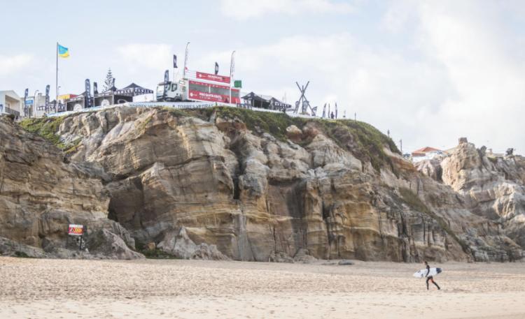 Quarta-feira foi um dia mau para a representação do Algarve no Pro Santa Cruz 2017 (®WSL/Poullenot/Aquashot)
