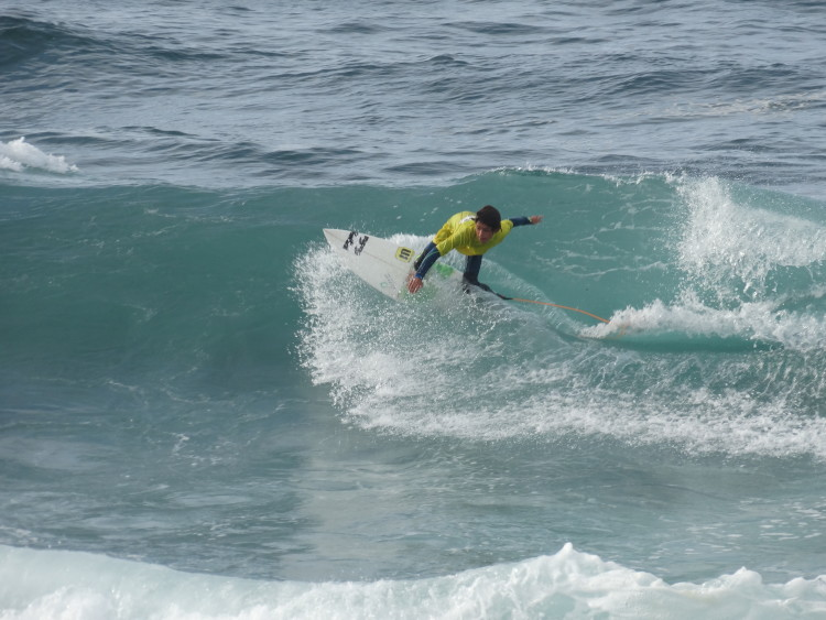 Nuno Baltasar Pinto foi 4º Sub-14 na etapa regional nos Açores (®DR)