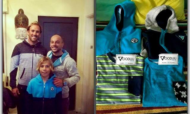 Ivan Bailote, Martim Brandão e Sérgio Ferreira, o 'patrão' da Vooduu Clothing (®DR)