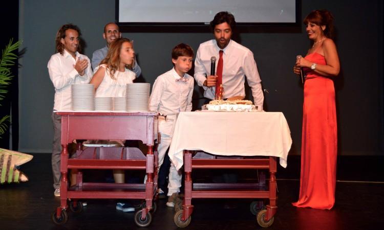 Terceiro aniversário do Portimão Surf Clube também foi celebrado na gala (®PauloMarcelino)