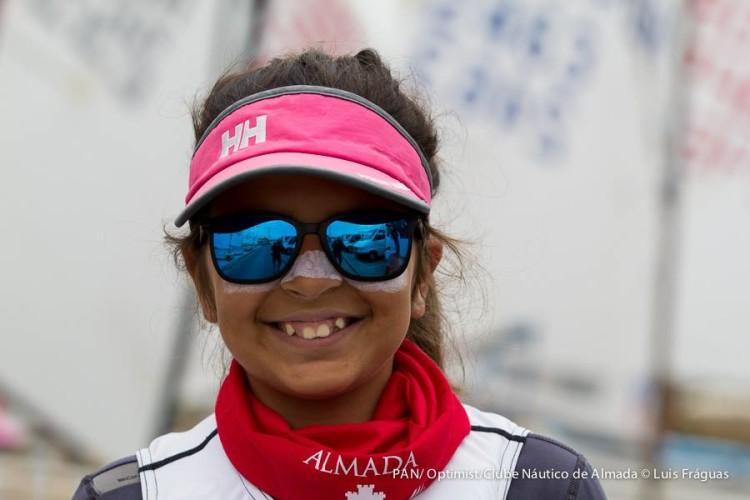 Beatriz Cintra também vai estar no Mundial de Optimist por Portugal, depois de o ano passado ter ido ao Europeu (®LuisFraguas/CNA)