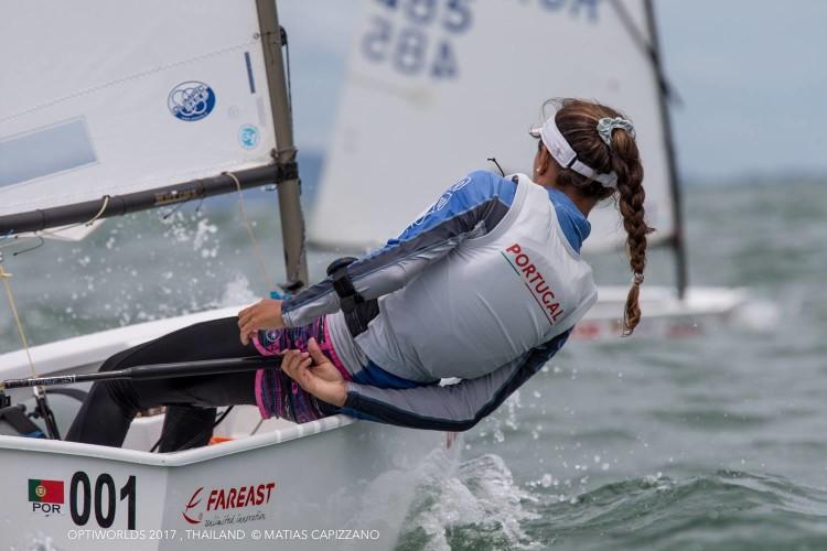 Beatriz Gago comandou a classificação feminina até ao último dia do Mundial (®MatiasCapizzano)
