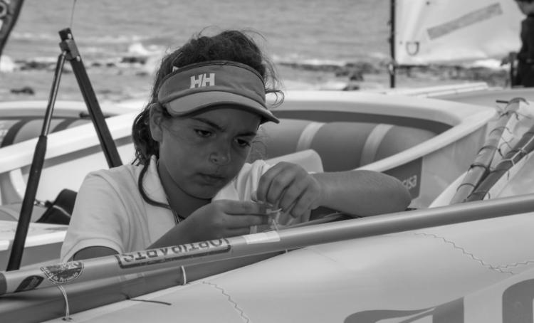 Algarvia Beatriz Cintra fez este ano a sua estreia em mundiais; foi 25º Feminino, 137ª na geral (®MatiasCapizzano)