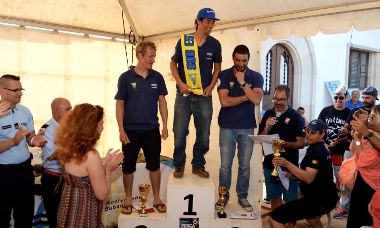 Matthias Sandeck (2º), Jody Lot (1º) e André Domingues (3º), os favoritos no pódio nacional individual em 2016 (®PauloMarcelino/arquivo)