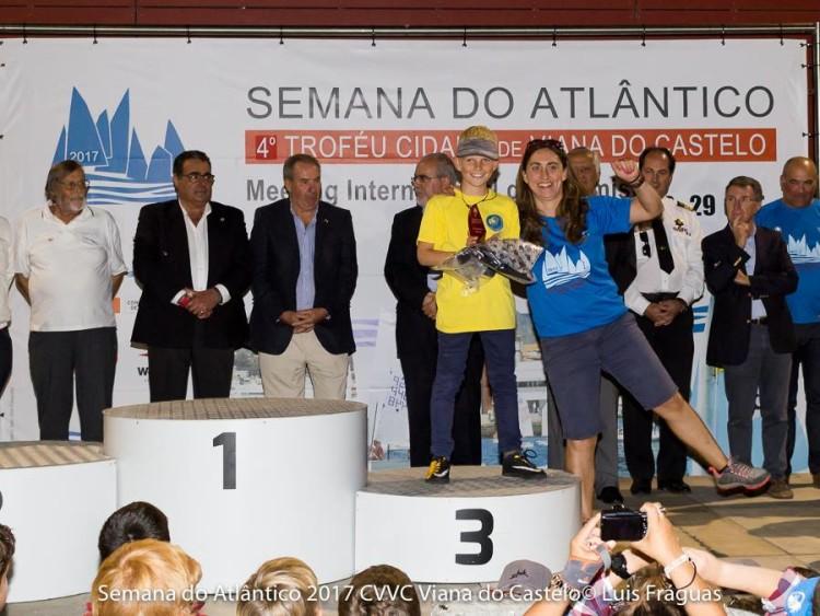 Algarvio Mick Dudek no 3º lugar do pódio Infantis Masculino (®LuisFraguas/CVVC)